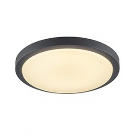 AINOS, rond, anthracite, LED 3000K
