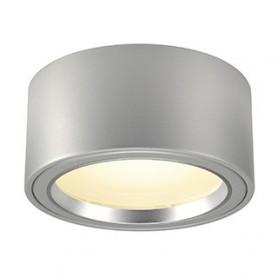 FERA 25, 1800lm, rond , gris argent, LED 21W, 3000K