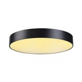 MEDO 60 LED, plafonnier, noir, LED 40W 3000K