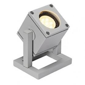 CUBIX 1 projecteur, gris argent, GU10, éco. énergie max. 25W