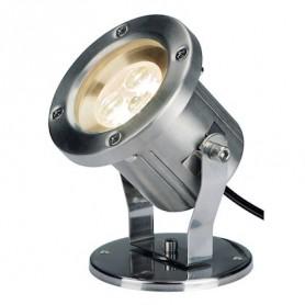 NAUTILUS LED 304B, inox brossé, 3x1W 3000K, IP55