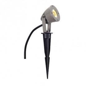NAUTILUS PIQUET LED COMPACT gris argent 3,3W 3000K fiche et câble inclus