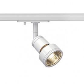 PURI spot, blanc, GU10, max. 50W, adaptateur 1 allumage inclus
