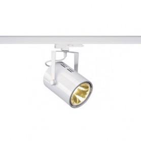 EUROSPOT TRACK DALI, blanc, 3000K, 38°, adaptateur 3 allumages inclus