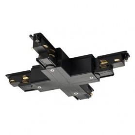 S-TRACK DALI, Connecteur en X, noir