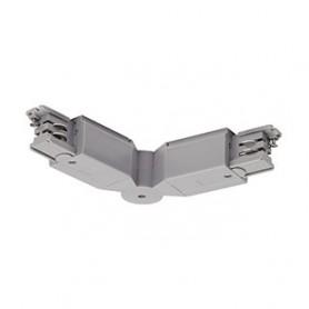 S-TRACK, connecteur d´angle, gris argent