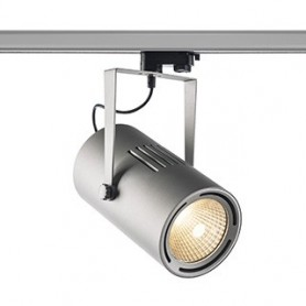 EUROSPOT TRACK, gris argent, LED 61W, 3000K, 38°, adapt 3 all inclus