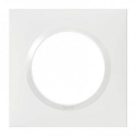PLAQUE SIMPLE BLANC  LEGRAND 600801 | GENMA