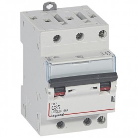 DNX3 3P C25 4500A/6KA VIS/VIS LEGRAND 406894 | GENMA