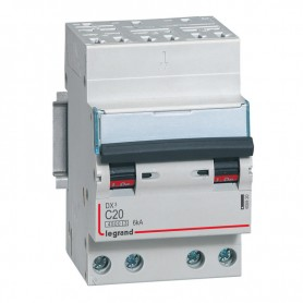 DNX3 3P+NG C20 4500A/6KA AUTO/VIS LEGRAND 406920 | GENMA