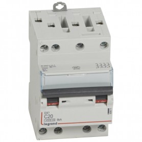 DNX3 3P+NG C20 4500A/6KA VIS/VIS LEGRAND 406911 | GENMA