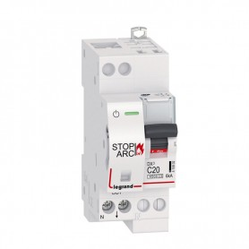 DX3 STOP ARC 1P+NG C20 4500A/6KA AUTO/VIS LEGRAND 415902 | GENMA