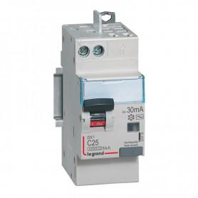 DX3 1P+NG C25 30mA TYPE AC 4500A/6KA VIS/VIS LEGRAND 410719| GENMA