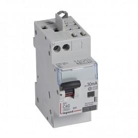 DX3 1P+NG C40 30mA TYPE AC 4500A/6KA VIS/VIS LEGRAND 410721| GENMA