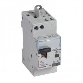 DX3 1P+NG C25 300mA TYPE AC 4500A/6KA VIS/VIS LEGRAND 410731| GENMA