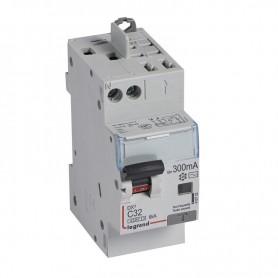 DX3 1P+NG C32 300mA TYPE AC 4500A/6KA VIS/VIS LEGRAND 410732| GENMA