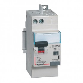 DX3 1P+NG C40 300mA TYPE AC 4500A/6KA VIS/VIS LEGRAND 410733| GENMA