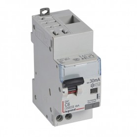 DX3 1P+NG C6 30mA TYPE AC 4500A/6KA AUTO/VIS LEGRAND 410711| GENMA