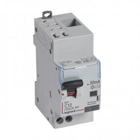 DX3 1P+NG C10 30mA TYPE AC 4500A/6KA AUTO/VIS LEGRAND 410712| GENMA