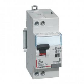 DX3 1P+NG C10 30mA TYPE AC 4500A/6KA VIS/VIS LEGRAND 410704| GENMA