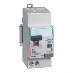 DX3 1P+NG C16 30mA TYPE AC 4500A/6KA AUTO/VIS LEGRAND 410713| GENMA