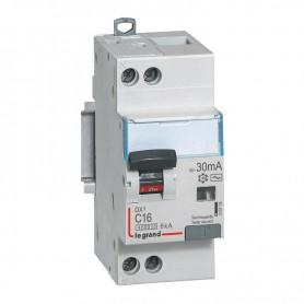 DX3 1P+NG C16 30mA TYPE AC 4500A/6KA VIS/VIS LEGRAND 410705| GENMA