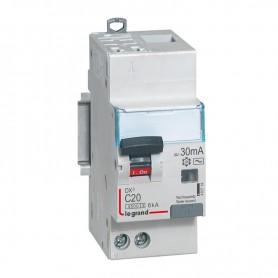DX3 1P+NG C20 30mA TYPE AC 4500A/6KA AUTO/VIS LEGRAND 410714| GENMA