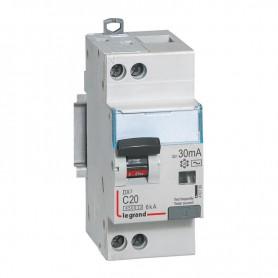 DX3 1P+NG C20 30mA TYPE AC 4500A/6KA VIS/VIS LEGRAND 410706| GENMA