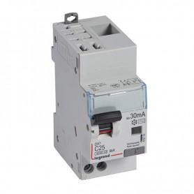 DX3 1P+NG C25 30mA TYPE AC 4500A/6KA AUTO/VIS LEGRAND 410715| GENMA