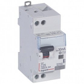 DX3 1P+NG C25 30mA TYPE AC 4500A/6KA VIS/VIS LEGRAND 410707| GENMA