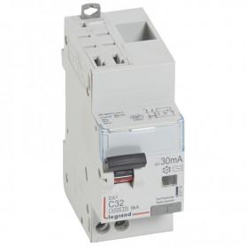 DX3 1P+NG C32 30mA TYPE AC 4500A/6KA AUTO/VIS LEGRAND 410716| GENMA