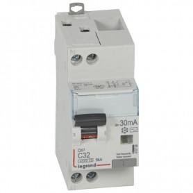 DX3 1P+NG C32 30mA TYPE AC 4500A/6KA VIS/VIS LEGRAND 410708| GENMA