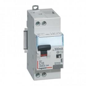 DX3 1P+NG C10 300mA TYPE AC 4500A/6KA VIS/VIS LEGRAND 410724| GENMA