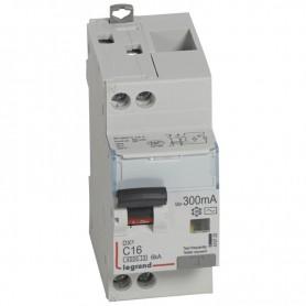 DX3 1P+NG C16 300mA TYPE AC 4500A/6KA VIS/VIS LEGRAND 410725| GENMA
