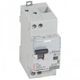 DX3 1P+NG C20 300mA TYPE AC 4500A/6KA VIS/VIS LEGRAND 410726| GENMA