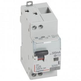 DX3 1P+NG C25 300mA TYPE AC 4500A/6KA VIS/VIS LEGRAND 410727| GENMA