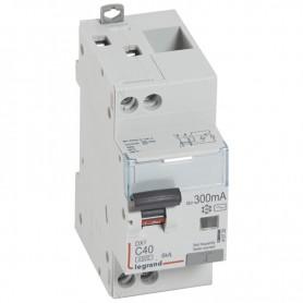 DX3 1P+NG C40 300mA TYPE AC 4500A/6KA VIS/VIS LEGRAND 410729| GENMA