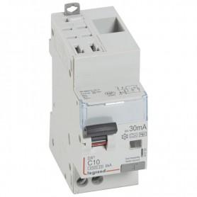 DX3 1P+NG C10 30mA TYPE F 4500A/6KA AUTO/VIS LEGRAND 410760| GENMA