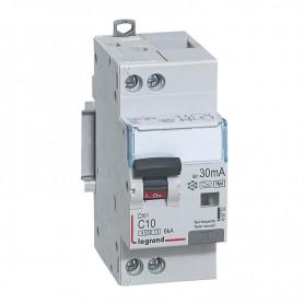 DX3 1P+NG C10 30mA TYPE F 4500A/6KA VIS/VIS LEGRAND 410752| GENMA