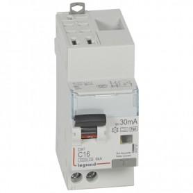DX3 1P+NG C16 30mA TYPE F 4500A/6KA AUTO/VIS LEGRAND 410761| GENMA