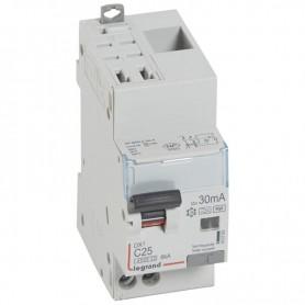 DX3 1P+NG C25 30mA TYPE F 4500A/6KA AUTO/VIS LEGRAND 410763| GENMA