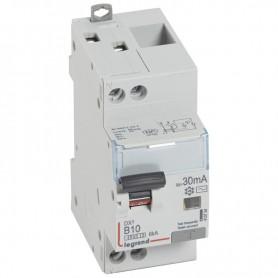 DX3 1P+NG C10 30mA TYPE AC - Courbe B 4500A/6KA VIS/VIS LEGRAND 410734| GENMA