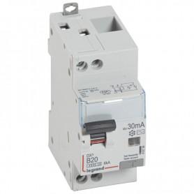 DX3 1P+NG C20 30mA TYPE AC - Courbe B 4500A/6KA VIS/VIS LEGRAND 410736| GENMA