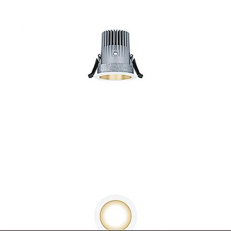 PANOS EVO R68 10W LED840 FL-GD WH