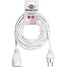 allonge électrique 10m de câble H05VV-F 3G1,5
