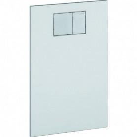 Plaque design pour abattant Geberit AquaClean: Blanc alpin - 115.322.11.1 - GEBERIT | GENMA