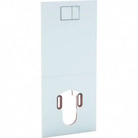 Plaque design pour WC complet Geberit AquaClean: Verre / Blanc - 115.328.SI.1 - GEBERIT | GENMA