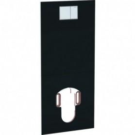Plaque design pour WC complet Geberit AquaClean: Verre / Noir - 115.328.SJ.1 - GEBERIT | GENMA