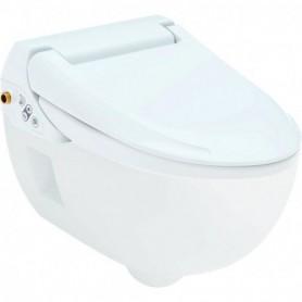 Pack Geberit AquaClean 4000 abattant avec WC suspendu: Blanc alpin - 146.135.11.1 - GEBERIT | GENMA