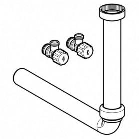 Kit de raccordement d'eau par le bas